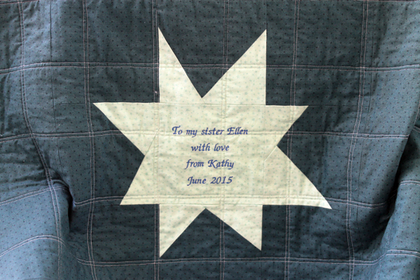 wonky rock star quilt