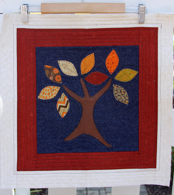 Block One -- Quilt As You Go