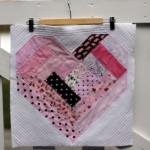 Block Six — February — Quilt as you Go