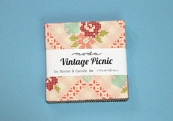vintage picnic charm pack from Moda