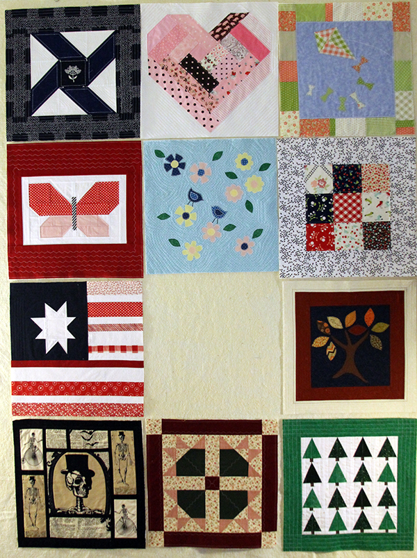 Block Eleven July -- Quilt as You Go