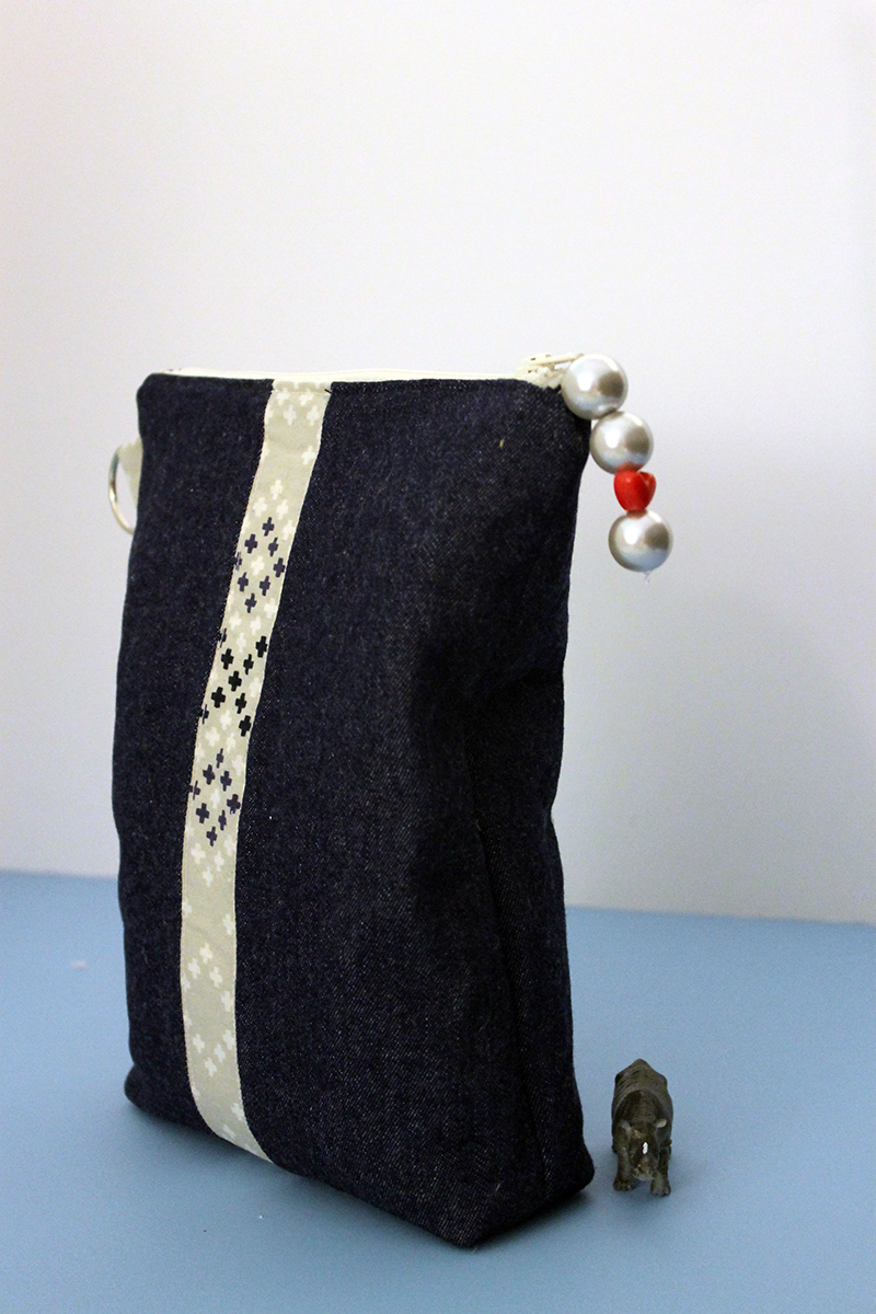 Another Little Zippety-do-da Pouch with a boxed bottom
