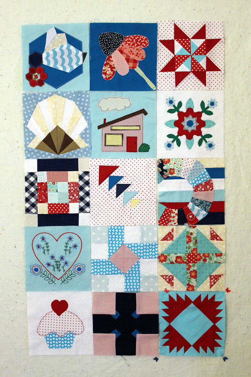 The Splendid Sampler, Blocks 51 - 65