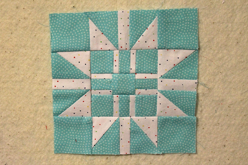 Bonus Block, Gift Wrapped Star, The Splendid Sampler