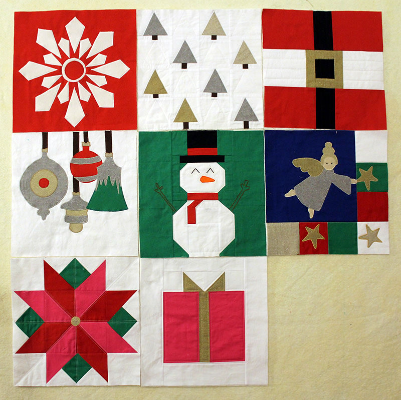 I Wish you a Merry Quilt-A-long! Block Seven!