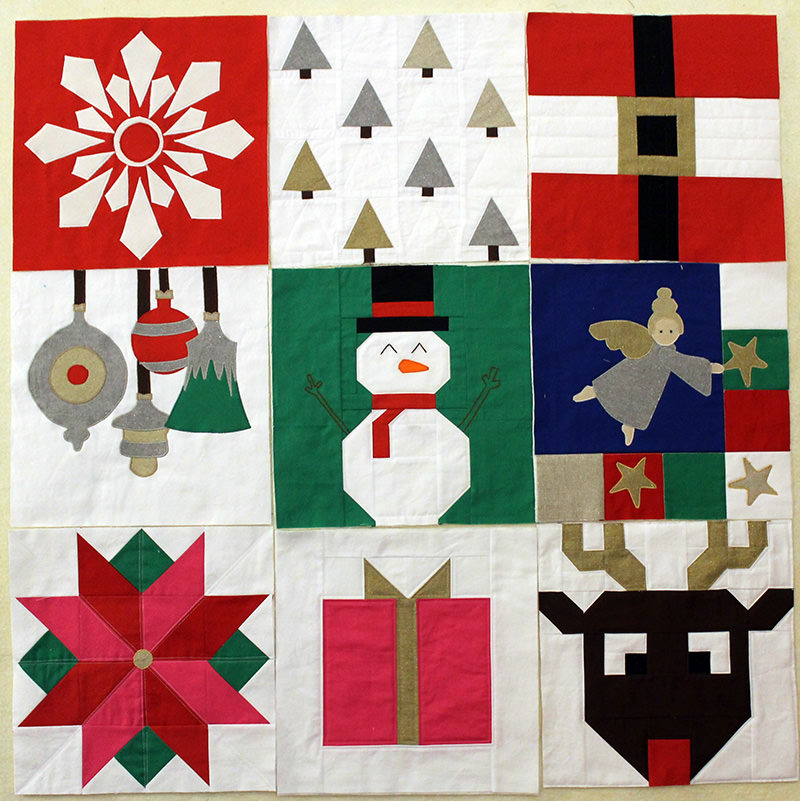 I Wish you a Merry Quilt-A-long! Block Nine!