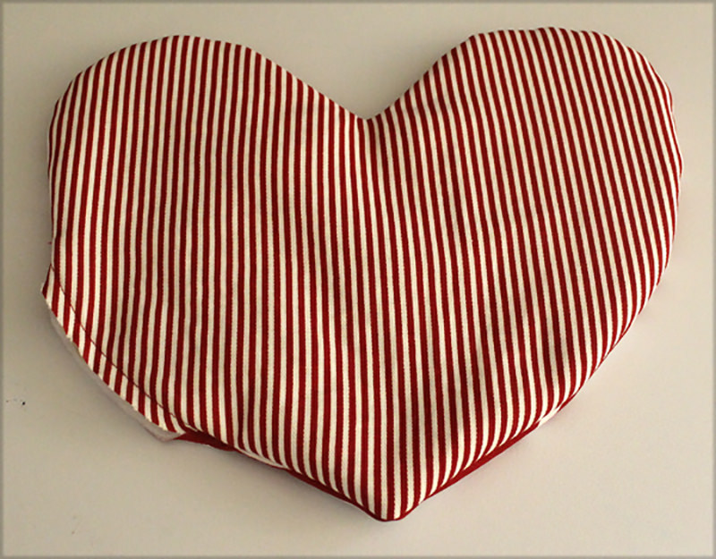Easy-Peasy Heart Pillows
