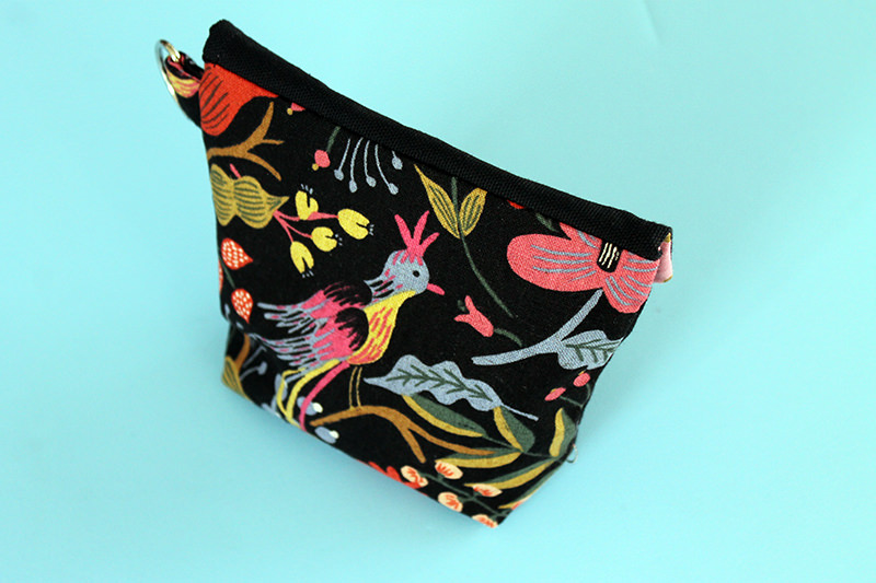 Finished Easy Peasy Pouch