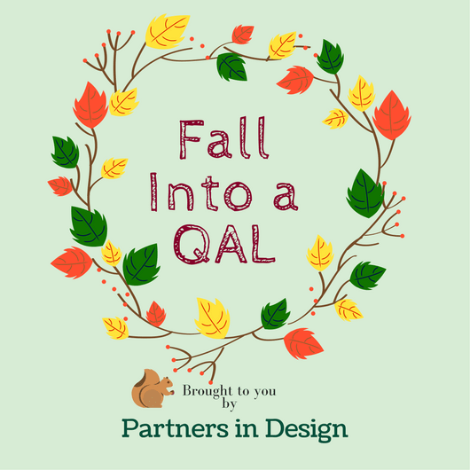 Fall Into a Quilt-A-Long Block 1