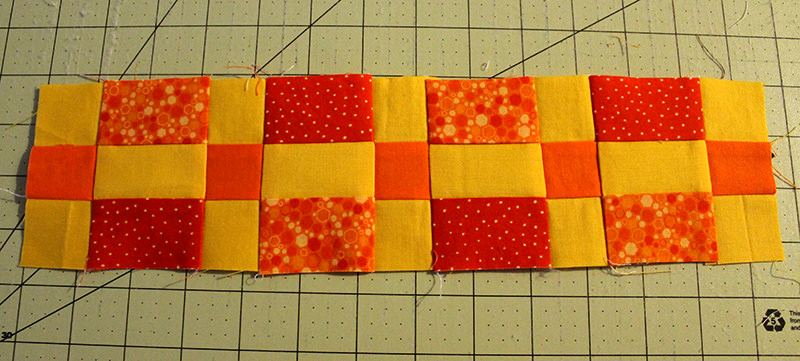 Fall Into a Quilt-A-Long Block 2