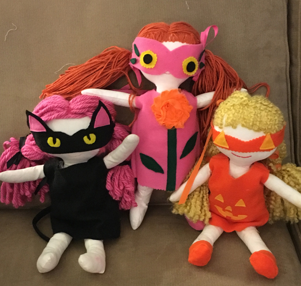 The Dolls new 'dos