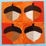 Fall Into a Quilt-A-Long Block 5 — Applique Version