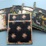 DIY Potholder with Hanging Loop -- Another Version